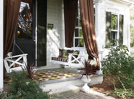 Front and Back Porch - Laura Weimer Interior Design - Laura Weimer