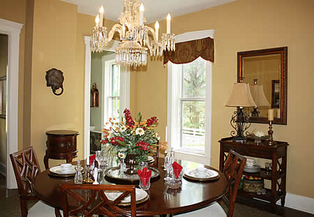 Dining Room - Buecker's Interiors - Eric J. Buecker and Monica Andrews Harris